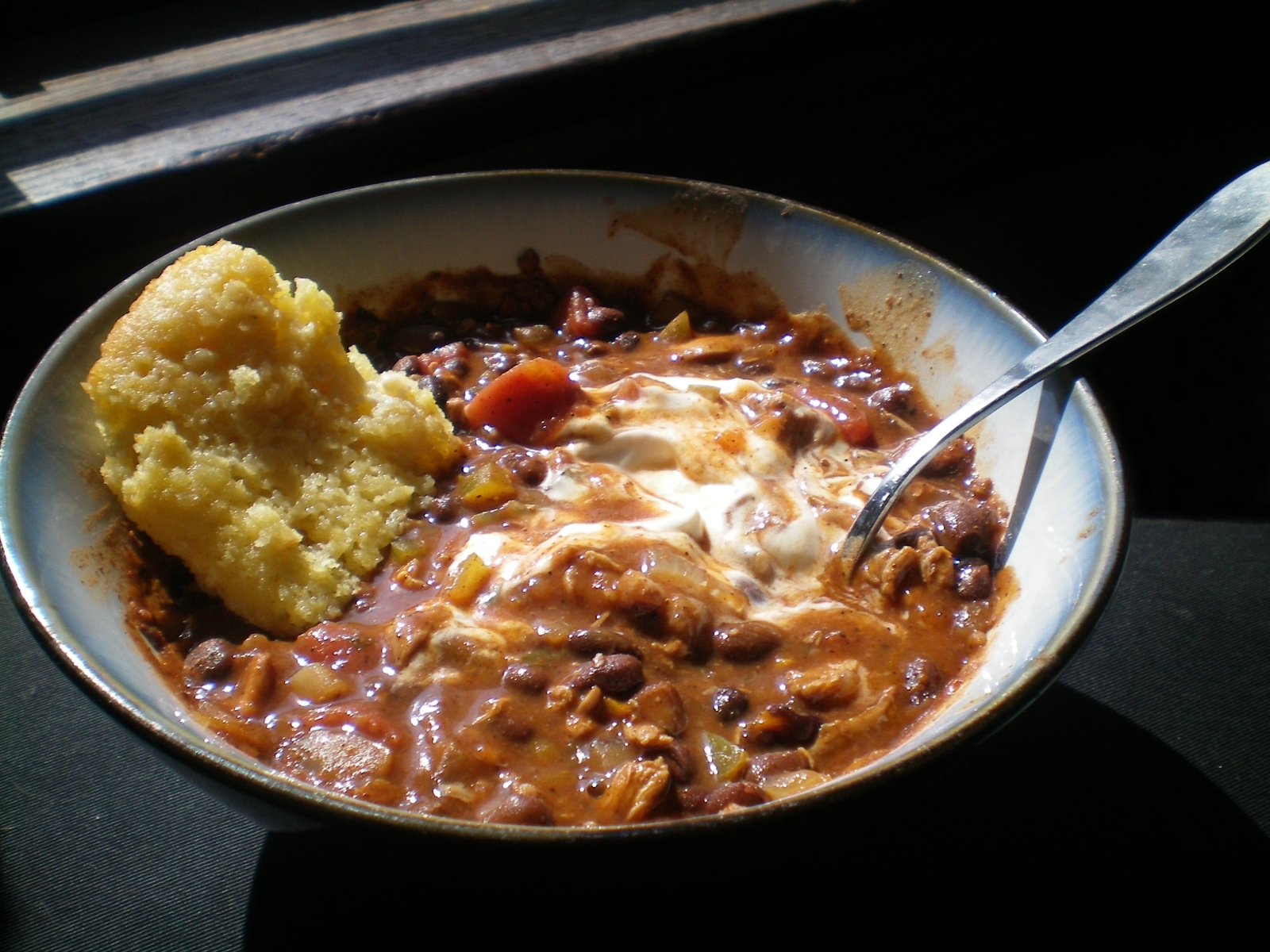 Jerk Chicken Chili (adapted from Smells Like Home )