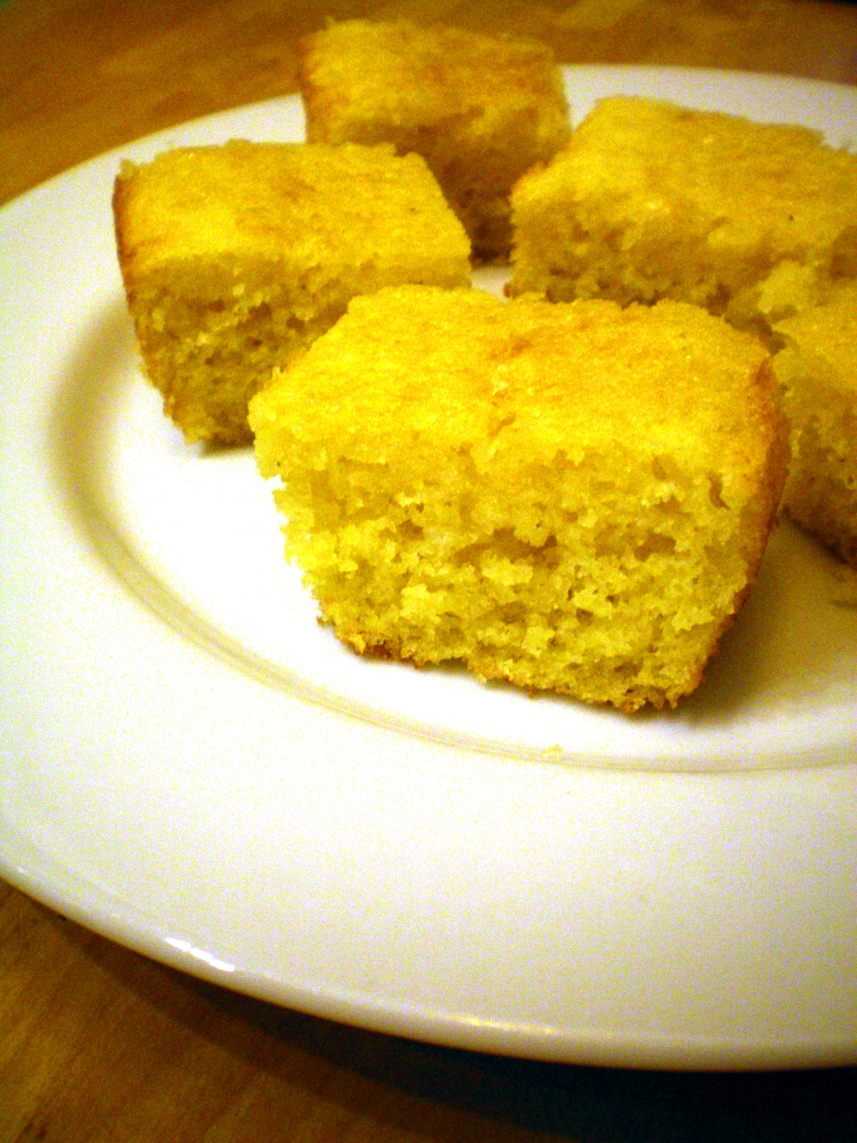 Honey-Glazed Cornbread