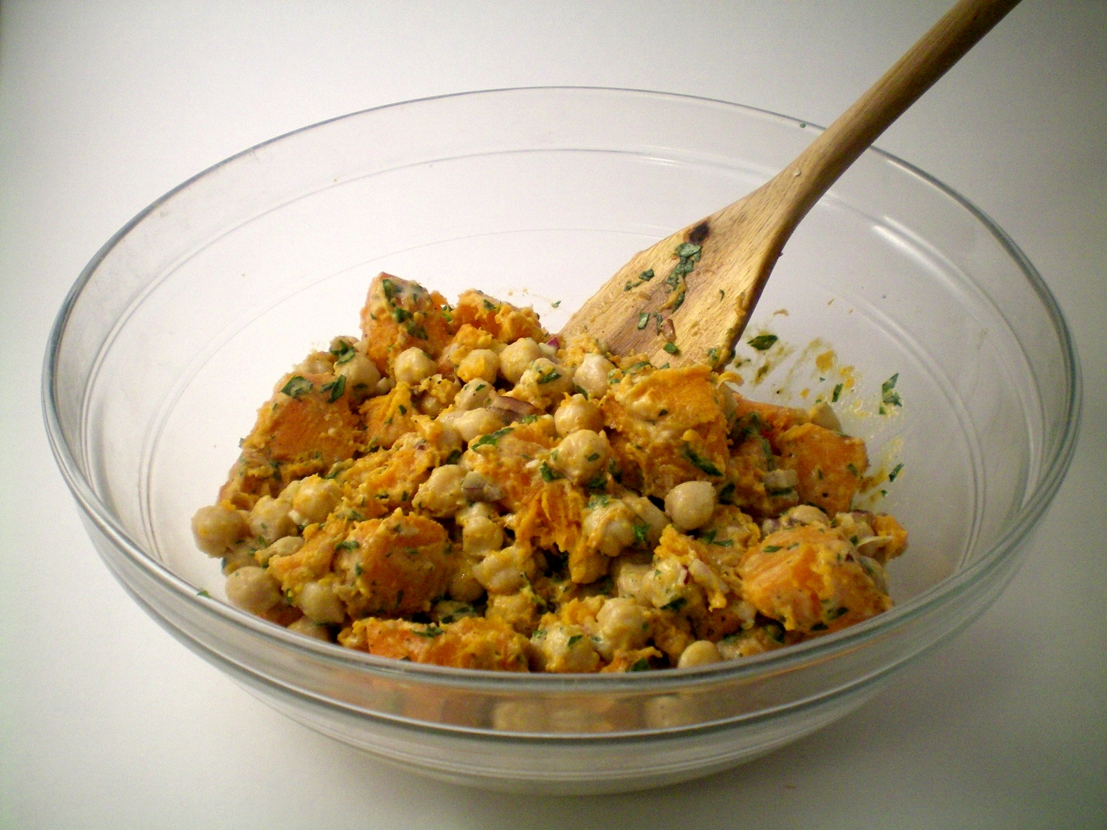 Butternut Squash and Chickpea Salad | sel et sucre