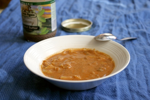 West African Peanut Soup Recipe — Dishmaps
