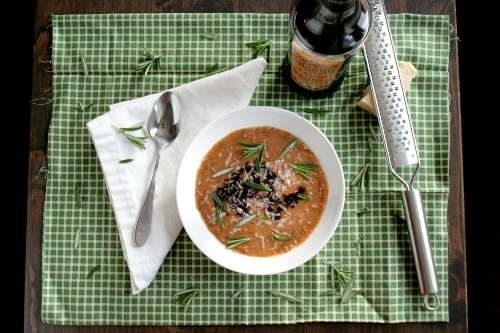 tuscan three bean soup
