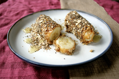 banana breakfast roll