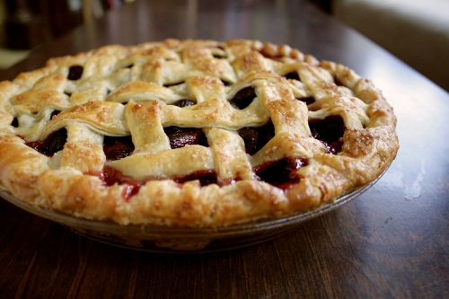 bourbon cherry pie