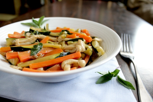 thai basil stir fry