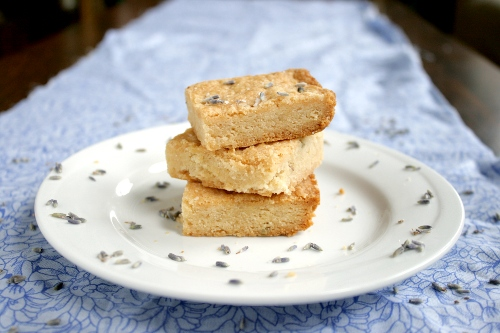 Honey Lavender Shortbread (adapted from Evil Shenanigans )