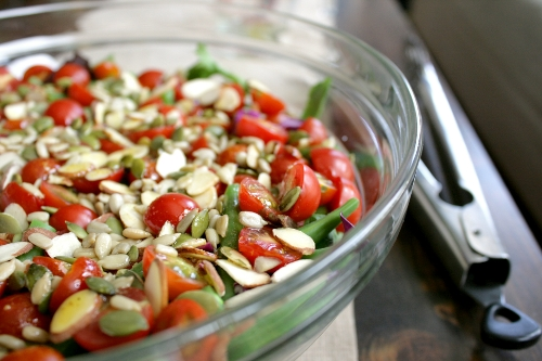family style summer salad