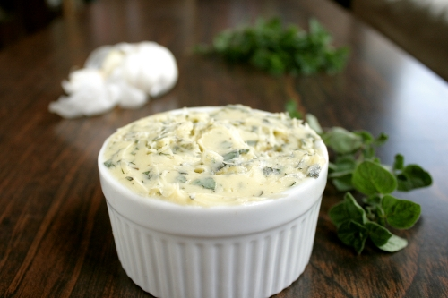 homemade oregano butter