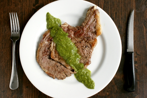 anchovy chimichurri