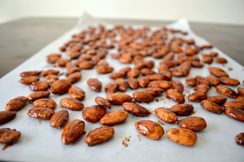 honey cinnamon almonds