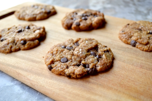 Flourless Peanut Butter Cookies (adapted from Recchiuti Confections )